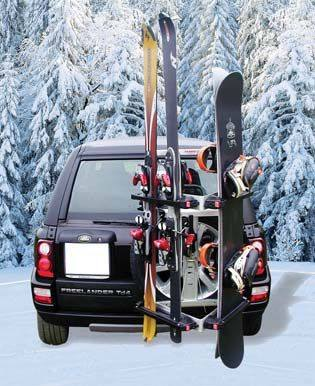 accessoires 4x4 4x4 accessoires marina alu ski et board porte ski et surf a glissiere. Black Bedroom Furniture Sets. Home Design Ideas