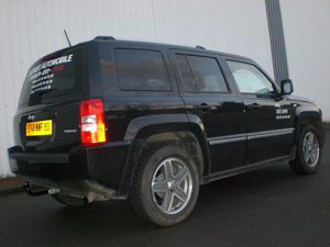 ATTELAGE JEEP PATRIOT 2007-> - COL DE CYGNE - attache remorque ATNOR