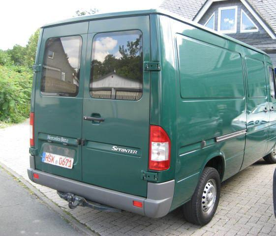 ATTELAGE MERCEDES SPRINTER 05/1995>05/2006 roues jumelees 5 5 6 - fabriquant AT