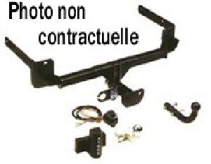 ATTELAGE VOLKSWAGEN POLO CADDY 06/1996>08/2004 - attache remorque ATNOR