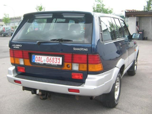 ATTELAGE SSANGYONG MUSSO 11/1995> - attache remorque ATNOR